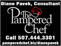 Diane Pavek, Pampered Chef Consultant